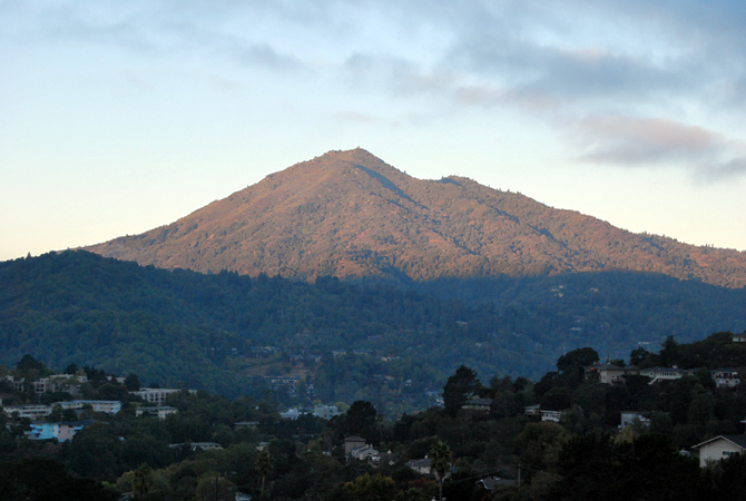 Mt. Tamalpais, September 18, 2012
