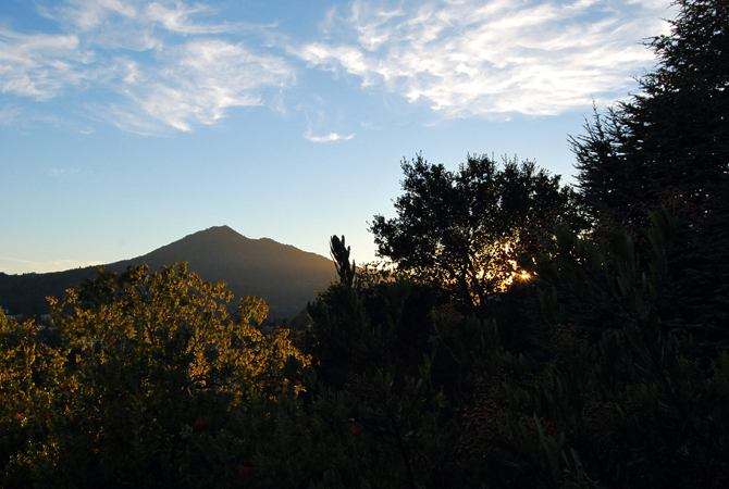 Mt. Tamalpais, September 23, 2012