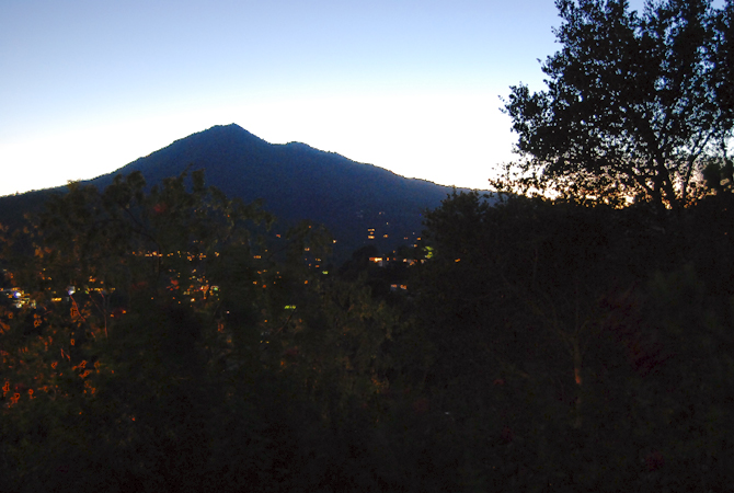 Mt. Tamalpais, October 25, 2012