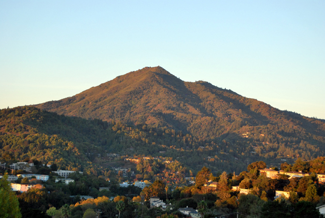 Mt. Tamalpais, October 26, 2012