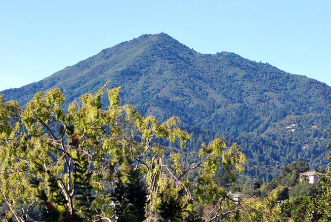 Mt. Tamalpais, October 27, 2012