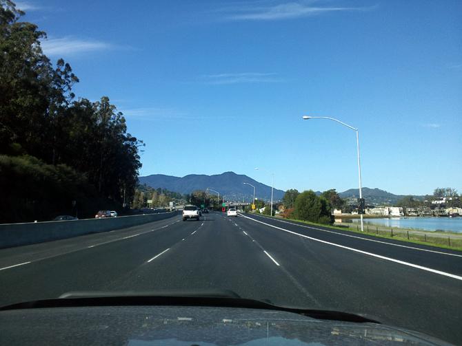 Mt. Tamalpais, November 25, 2012