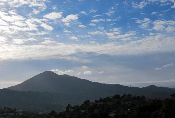 Mt. Tamalpais, November 27, 2012
