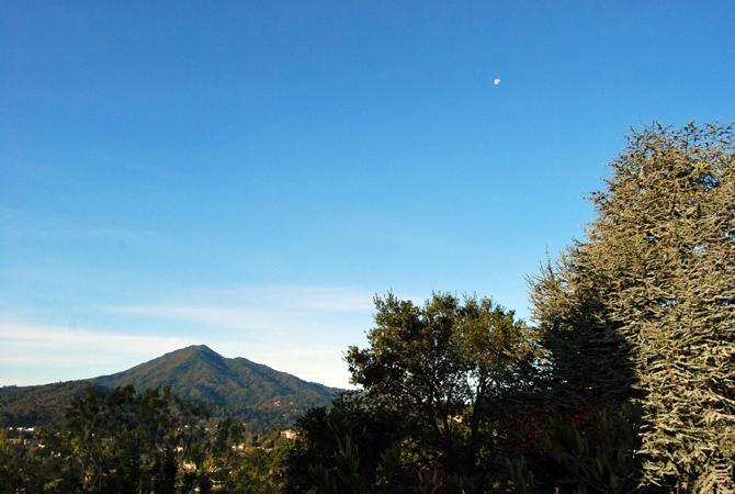 Mt. Tamalais, November 3, 2012