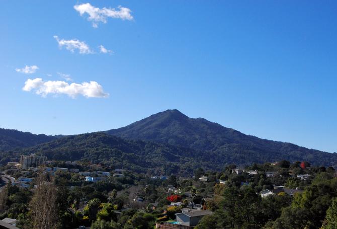 Mt. Tamalapais, December 13, 2012