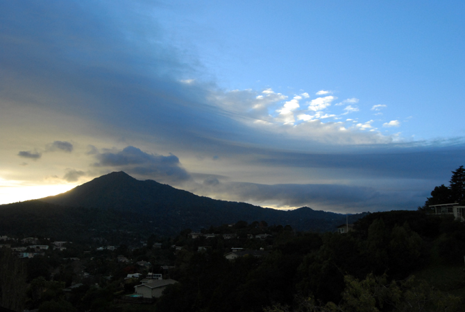 Mt. Tamalpais, December 20, 2012