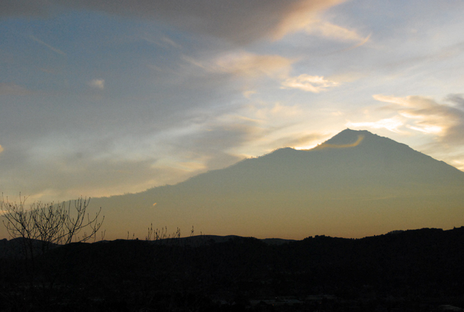 Mt. Tamalpais, December 7, 2012